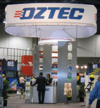 Oztec at Trade Show
